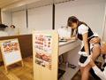 ぶっかけられた巨乳ウエイトレス 雪美千夏のサムネイルエロ画像No.2