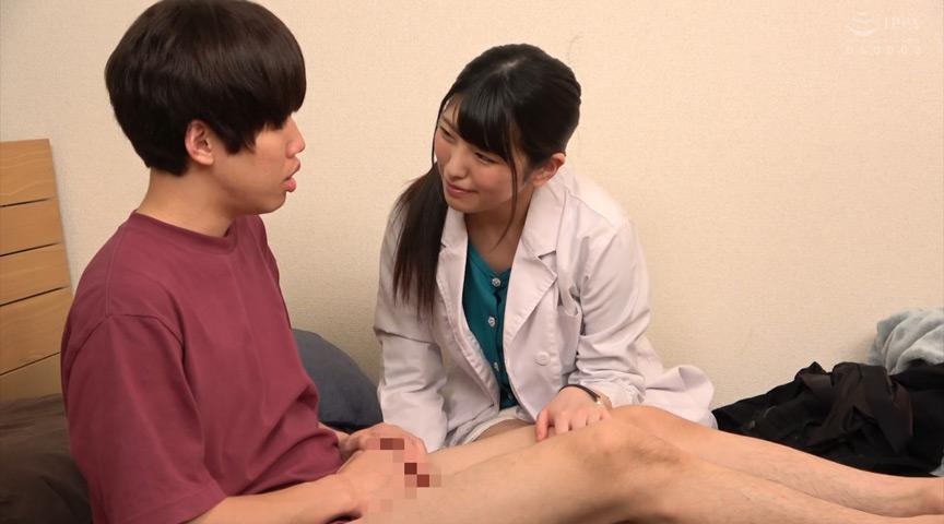 研修期間中の女性校医による思春期の男子校生へ検診事情のサンプル画像