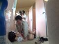 夏祭り浴衣少女(18)公衆トイレレイプ-5