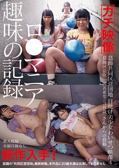 「葛飾共同区営団地 日焼け美少女わいせつ映像4」のパッケージ画像