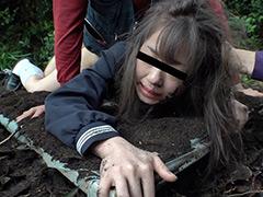 制服女子○生連れ去り野外レイプ映像