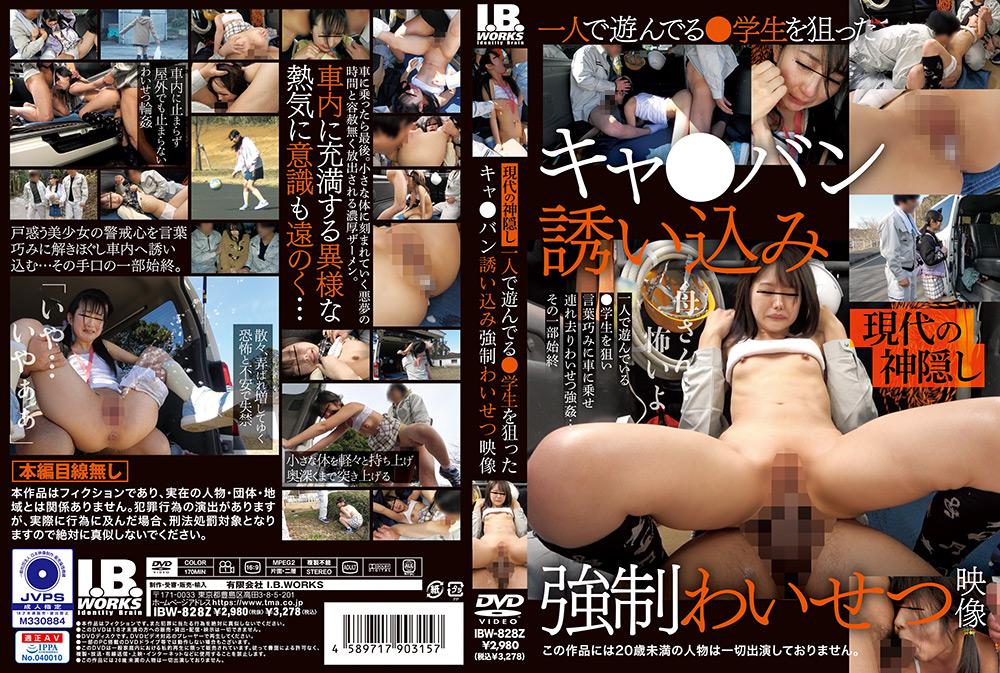 IdolLAB   ibworks2-0222 ○学生を狙ったキャ○バン誘い込み強制わいせつ映像