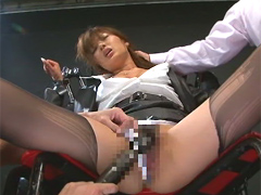 麻薬捜査官 ヤク漬け膣痙攣 松生彩:女優
