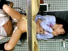 妊娠検査に来たJKが媚薬、電流責めで痙攣絶頂!2