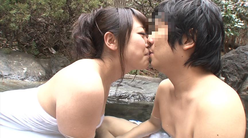 男女が初めて2人きりの混浴露天風呂に入ったら