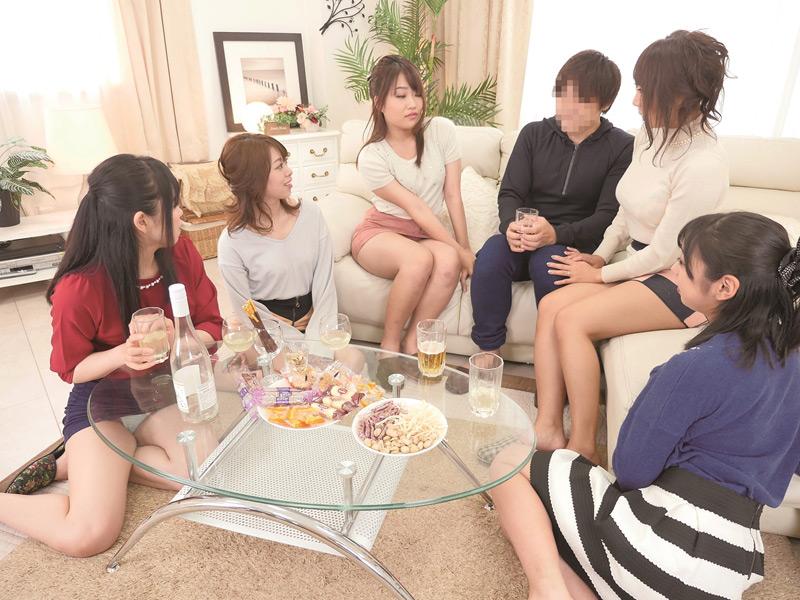 町内会の若妻の集まりで男はボク1人だけの王様ゲーム 3