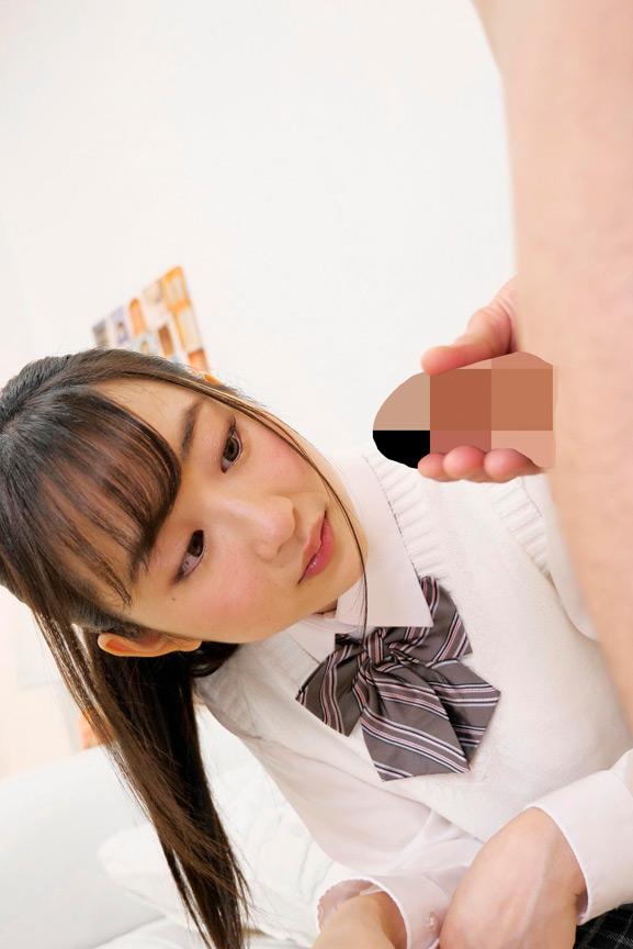 有名進学校の女子校生が初めてのオナニー鑑賞! 至近距離でのガマン汁臭とシコシコ音にグッチョリ膣キュン!頬を赤らめて求めて来たので生挿入、中出ししちゃいました! 2枚目