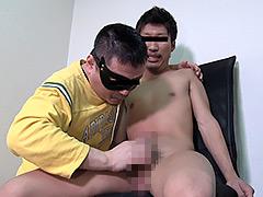【ゲイ動画】イケメン色黒サーファーがヨガり鳴く