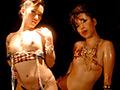 暗闇で女体乱舞ダンス