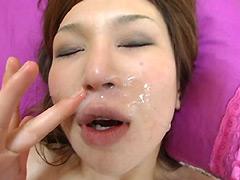 鼻穴飲精:フェチ