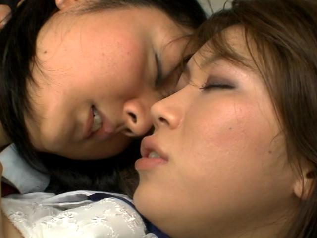 鼻舐めと接吻 画像 3