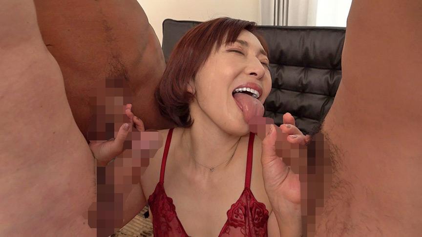 チ○ポを見るすぐに咥えちゃう潮吹き蛇舌熟女 カスミ 画像7