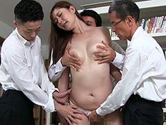 フェチ:妄想女教師痴漢 葵百合香