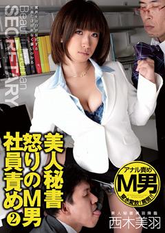 美人秘書 怒りのM男社員責め2 西木美羽