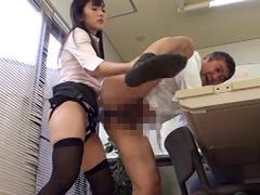 キャリア系OL M男社員スパルタ調教4 大槻ひびき