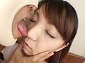 顔を舐める-4