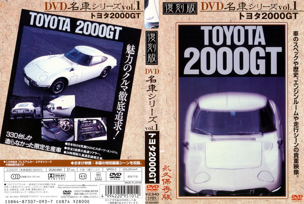 名車 トヨタ2000GT
