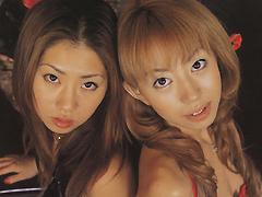 IDOL LES 澤宮有希 泉星香 白人美女 ヌード 無料エロ動画まとめ|H動画ネット