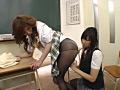女子校生黒タイツレズSP-1