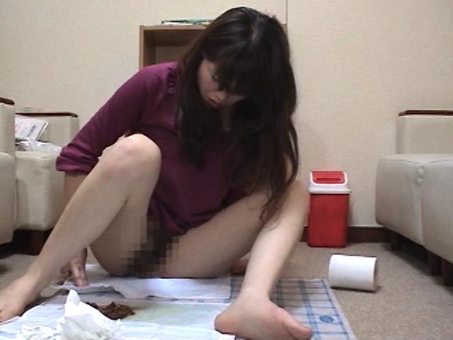 イチジク浣腸熟女の自画撮りエロ脱糞見て下さい2 画像 8