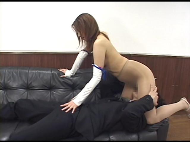 騎乗位パンスト 巨尻なお姉さんに騎乗位で搾り採られて 画像 5