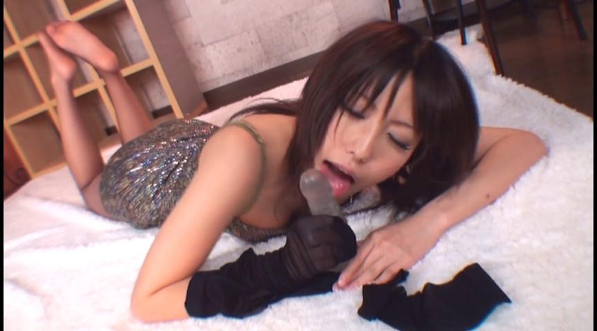 キレイなお姉さんの淫語バーチャルパンストプレイ 画像 1