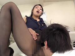 透けエロお姉さんの甘い誘惑 小早川怜子