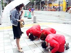 Let's突撃土下座ナンパ167