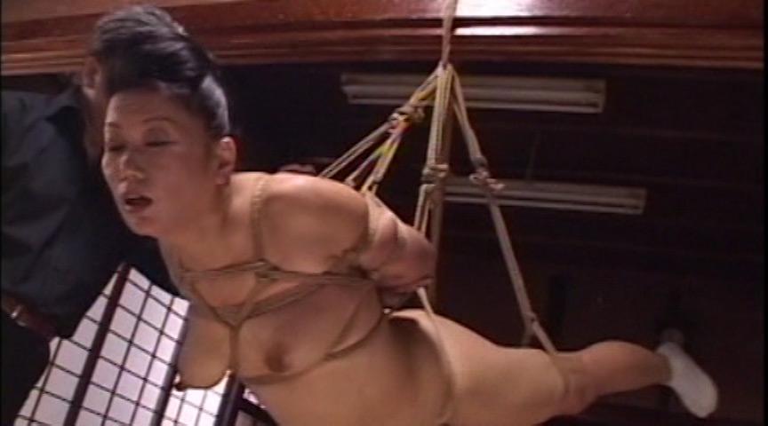 和服 緊縛奴隷 卑猥なカラダに食い込む縄で絶頂しまくる美熟女