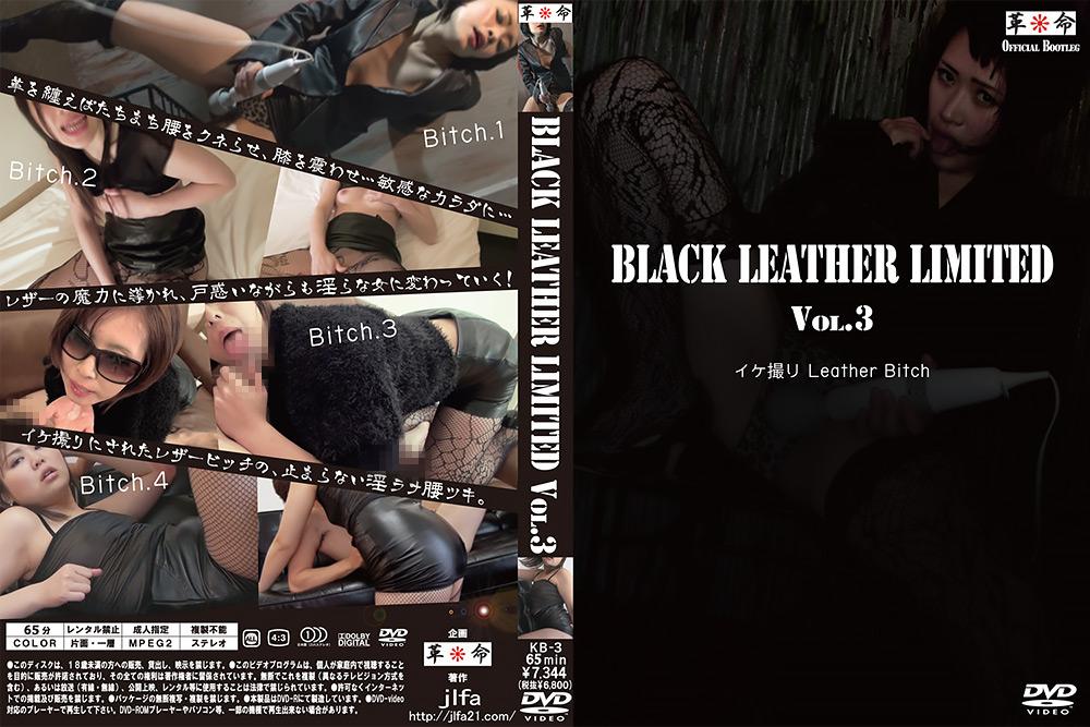 フェチ:BLACK LEATHER LIMITED Vol.3