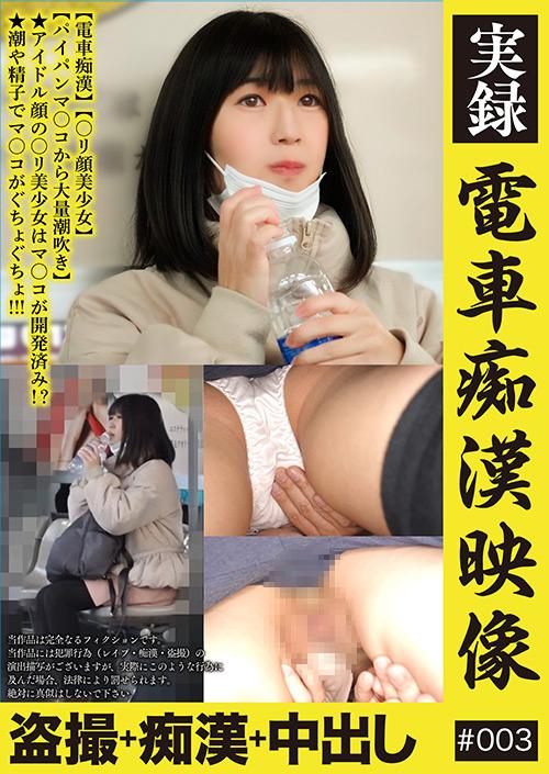 痴漢:実録 電車痴漢映像 #003