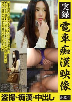 実録 電車痴漢映像 #004