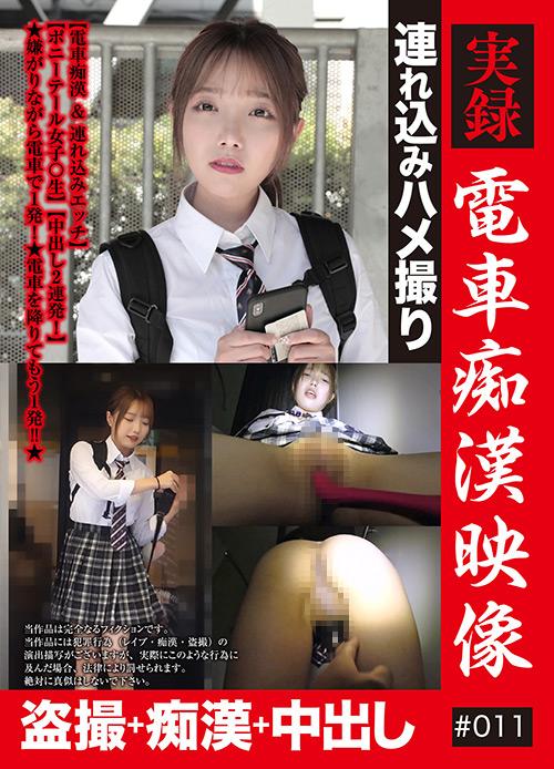 実録 電車痴漢映像 #011