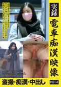 実録 電車痴漢映像 #014