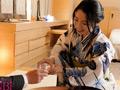老舗旅館若女将春野あおい 34歳 AVデビューのサムネイルエロ画像No.6