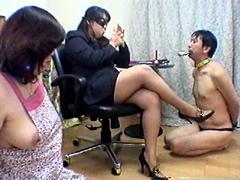 美人秘書、夫婦奴隷を飼う!