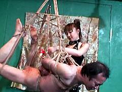 美人拷問官 雪菜 残虐の緊縛・鞭拷問