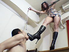 女王様:美脚に服従させる女達 足舐め美脚拷問責め