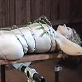 有刺鉄線ぐるぐる回き 流血地獄 残極のスパンキング