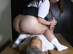 肛門マニアの末路 爺さんの孫娘家庭内尻穴チカン