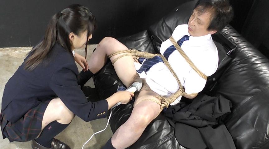 強制飲尿M男虐待 M男、パイパンの刑! 画像 2