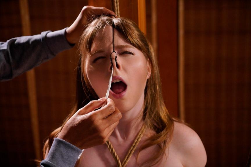 異国の純白娘 Mの恥辱、縄乞い緊縛調教