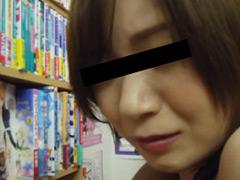 【書店痴漢】エロボディのお姉さんが中出し絶頂のジャケットエロ画像