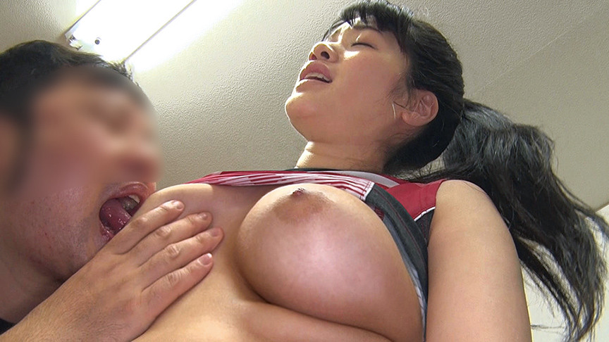 巨乳バレーボール女子大生のサンプル画像1