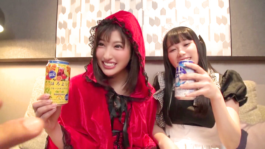 渋谷の街でコスプレ女子10人をハロウィンナンパ!