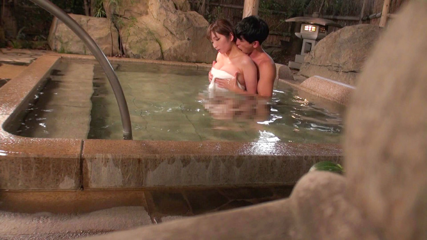IdolLAB | kurofune-0141 人気の混浴温泉宿で素人カップルをだましてNTRセックス