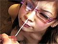 メガネの似合う厳選美女5名に凄すぎる一発顔射