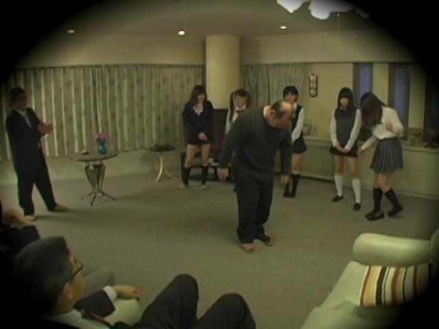 女王様JK売買 Mオヤジが集まる秘密サークル盗撮のサンプル画像8