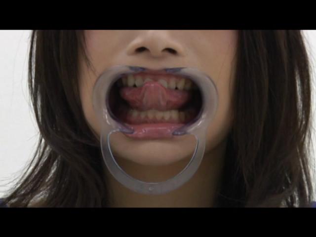 素人女子涎・歯・べろ観察 画像 12