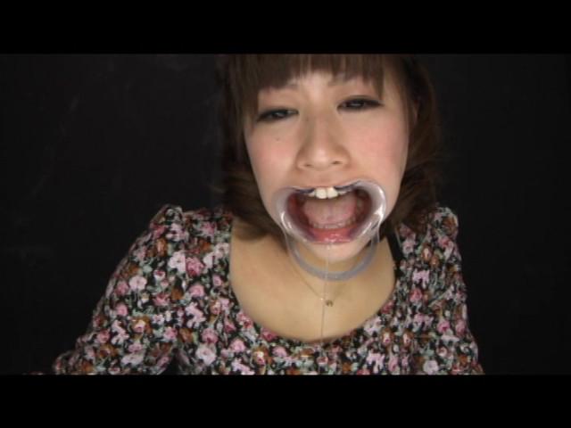 素人女子涎・歯・べろ観察 画像 14
